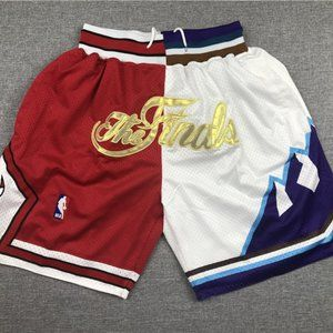 Chicago Bulls Utah Jazz The Finals Just Don Shorts